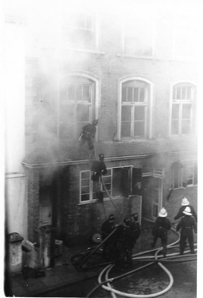Photo: Illustrative image for the 'DOWNS LAUNDRY FIRE.' page