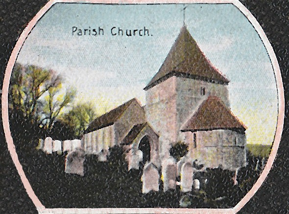 Photo:Parish Church, Church Hill c1900