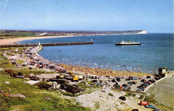 Photo:Sandy Beach - c1958