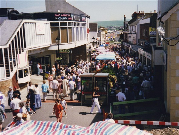 Photo:The Centre Part Of The Town On Market Day