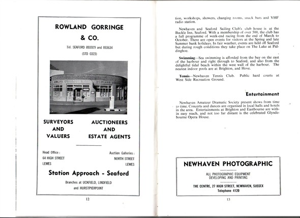 Photo: Illustrative image for the 'NEWHAVEN BROCHURE' page