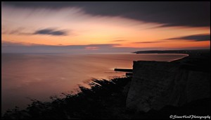 Photo: Illustrative image for the 'SUNSET OVER NEWHAVEN' page