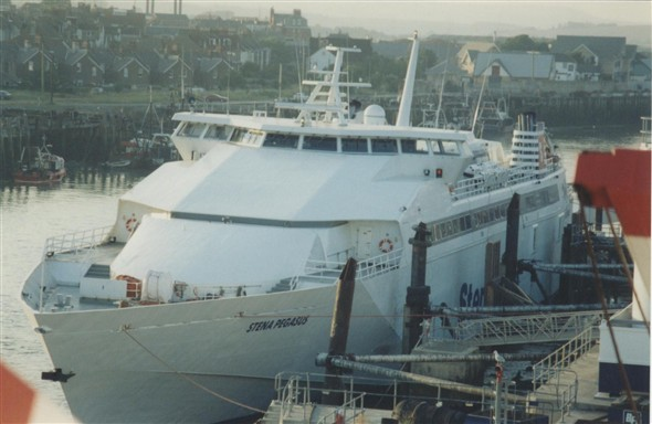 Photo:Stena Pegasus - 1996