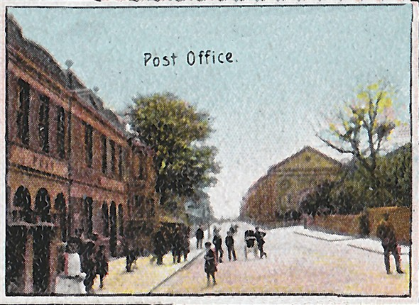 Photo:Meching Road &Post Office c1900