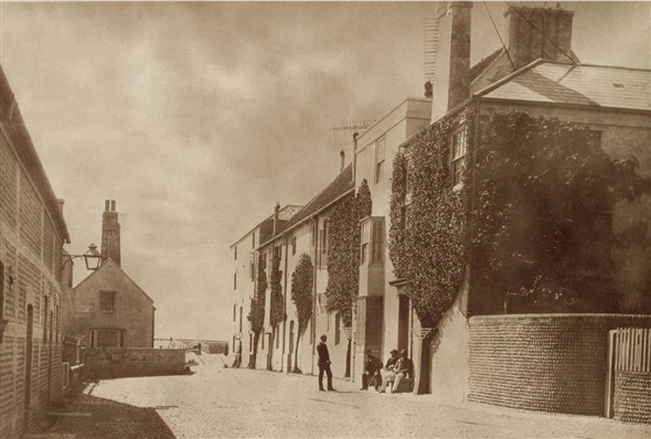 Photo:Tidemills flour mill (looking south)