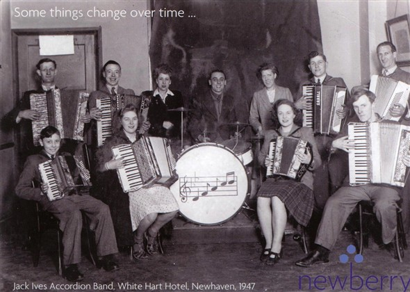 Photo: Illustrative image for the 'JACK IVES ACCORDIAN BAND - Photos 1930's and 1947' page