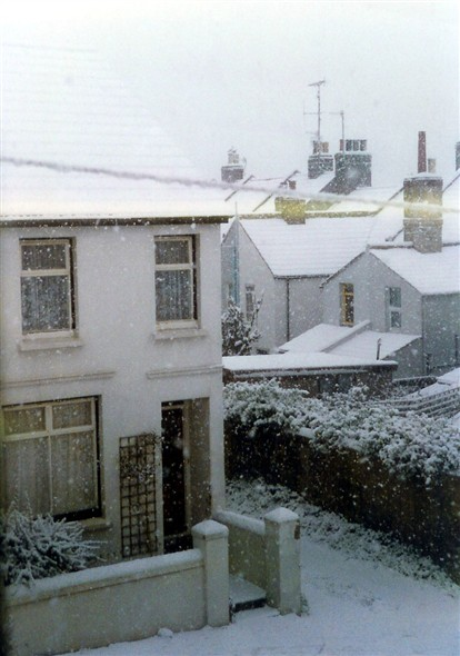 Photo:Lawes Avenue - winter 1991