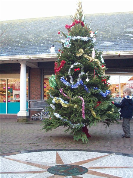 Photo:Xmas tree in the Square