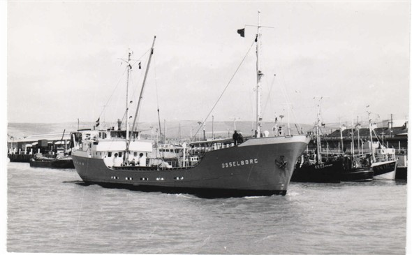 Photo:Ysselborg - built 1956 by Gebr. Sander of Delfzijl for owners Wagenborg