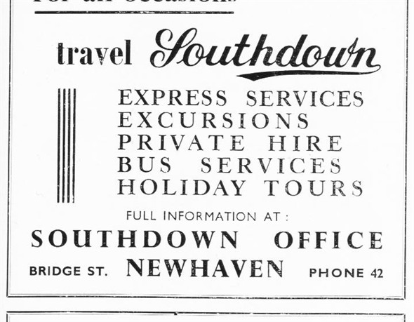 Photo:Southdown Advertisment - c1950