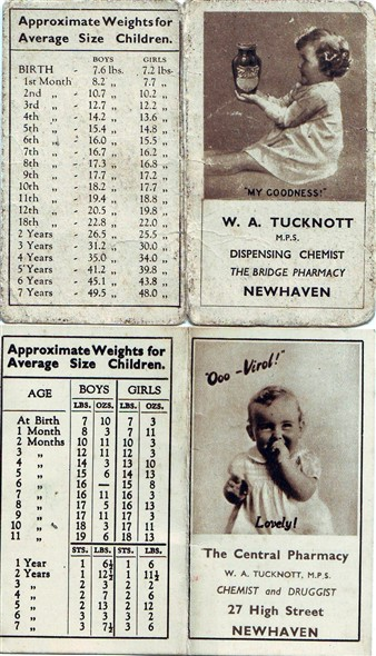 Photo: Illustrative image for the 'BABY WEIGH CARDS 1946' page