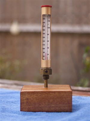 Photo:Barry's thermometer