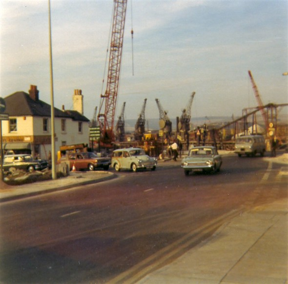 Photo:The junction of Bridge Street and Southway