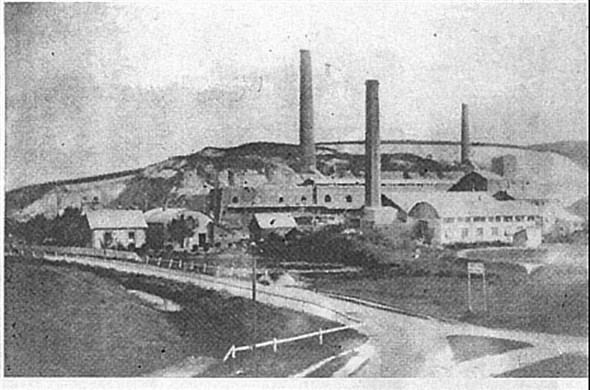 Photo:The old cement works at Sth Heighton