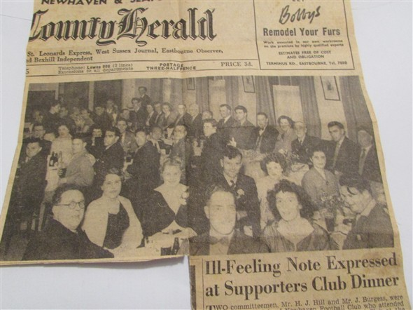 Photo: Illustrative image for the 'NEWHAVEN FOOTBALL CLUB DINNER' page