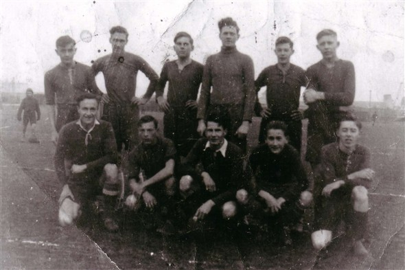 Photo:Football team 1947