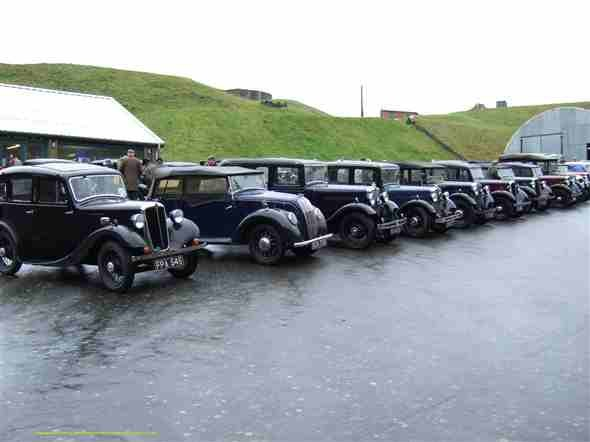 Photo:The wet and windy day 4th March 2007. The 45th South Coast Run.