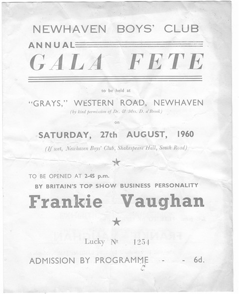 Photo: Illustrative image for the 'GALA FETE 1960' page