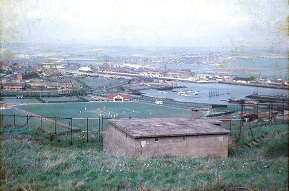 Photo:The view from the Fort, 1958