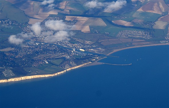 Photo:Newhaven from the air - post 2006.