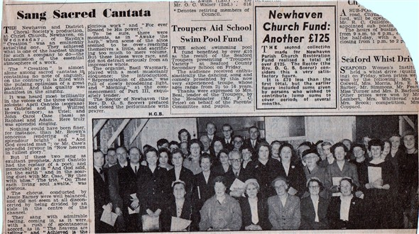 Photo: Illustrative image for the 'NEWHAVEN & DISTRICT CHORAL SOCIETY' page