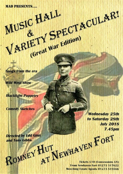 Photo: Illustrative image for the 'MUSIC HALL AND VARIETY SPECTACULAR' page