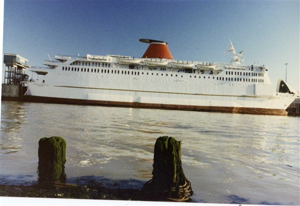 "Photo:1987, the ""Stena Nautica""."