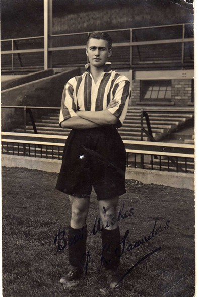 Photo:A schoolfriend of my late father in law Jim Strudwick who played for Sunderland Football Club circa 1930s