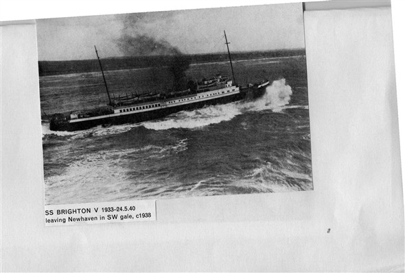 Photo: Illustrative image for the 'NEWHAVEN TO DIEPPE SHIPS' page