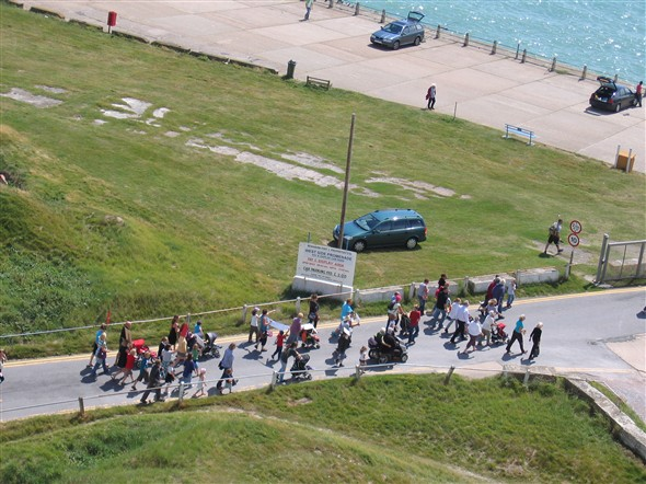 Photo: Illustrative image for the 'THE JULY DEMONSTRATION TO REOPEN NEWHAVEN SANDY BEACH' page