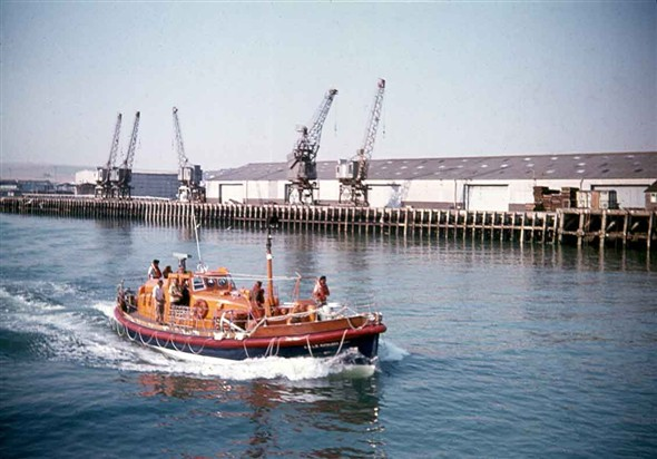 Photo: Illustrative image for the 'NEWHAVEN LIFEBOAT' page