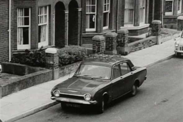 Photo:Lucan's Ford Corsair in Norman Road - 1974