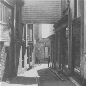 Photo:St Lukes lane Looking towards the High Street