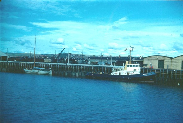 Photo:Is this the Meeching pictured on her arrival in summer 1960