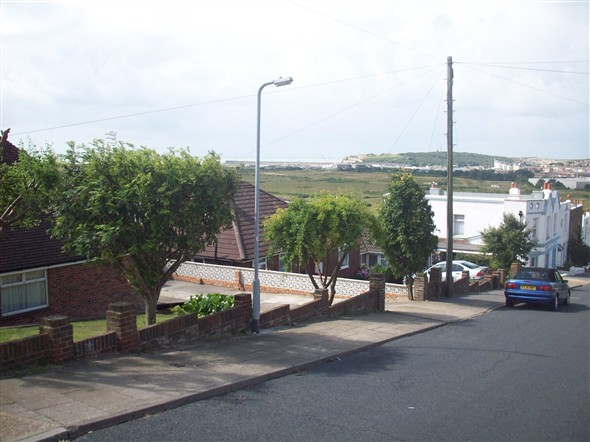 Photo:View from Mount Road in 2008 from roughly the same position.