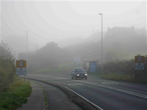 Photo:Foggy October morning 2007