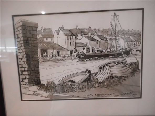Photo: Illustrative image for the 'OLD NEWHAVEN HARBOUR' page