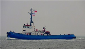 Photo:Nore Crest on the way to Harlingen. Click on the image for a larger version.