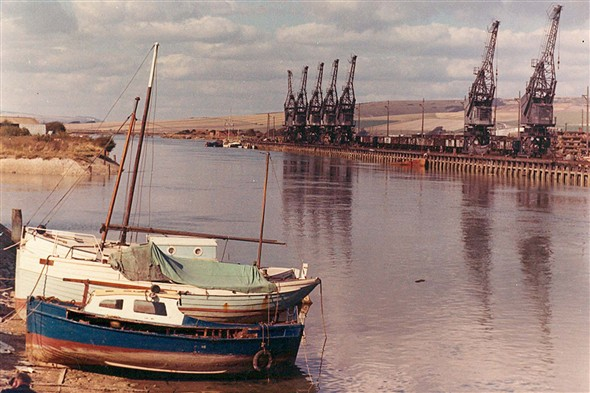Photo:(28) - North Quay silpway 1960's