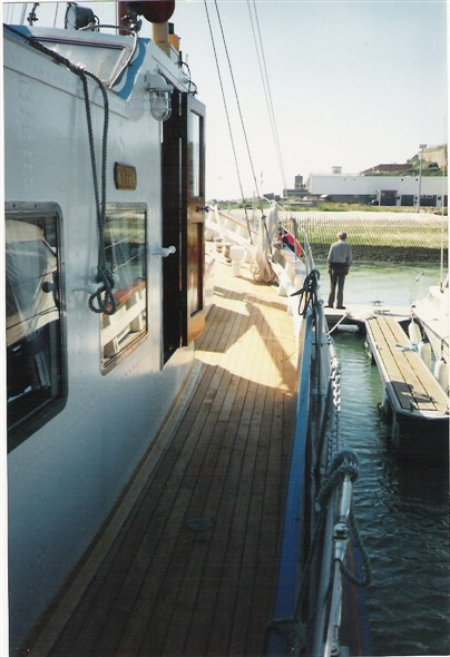 Photo: Illustrative image for the 'MOTOR FISHING VESSEL (M.F.V.) YACHT DECK RE-CAULKING' page