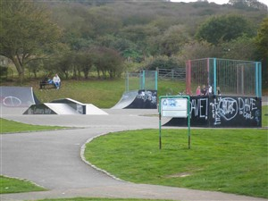 Photo: Illustrative image for the 'FORT ROAD SKATE PARK' page