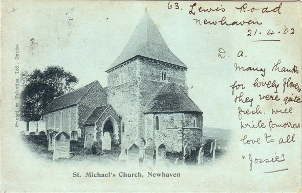 Photo:St Michaels Church - c1902
