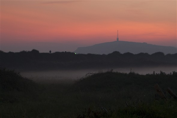 Photo:A misty end to the sunset