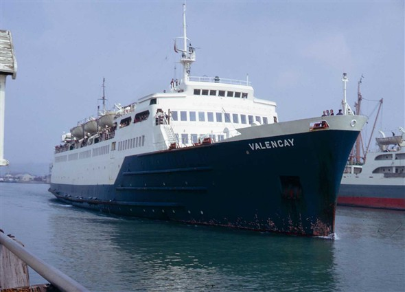 Photo:Valencay (1965) One of the 'V' boats that served the line well for many years