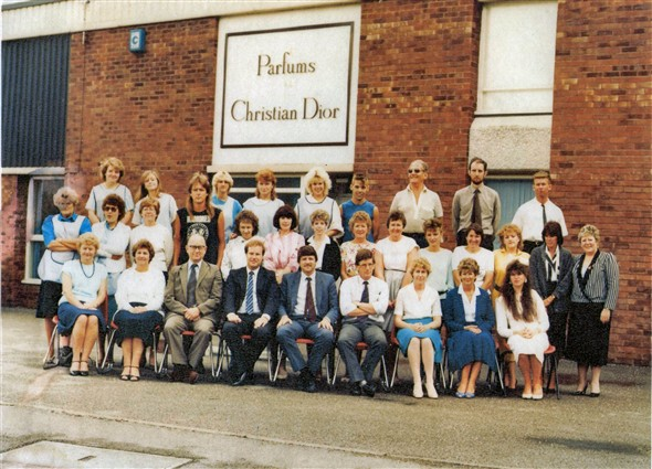 Photo:PCD staff - mid 1980's