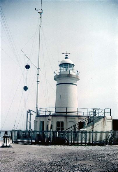 Photo:The West Pier light May 1966
